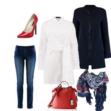 Outfit Accessori in rosso
