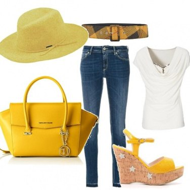 Outfit Jeans&yellow