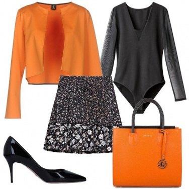 Outfit Che ne pensi dell\'arancio?
