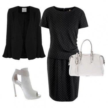 Outfit Il vestito a pois