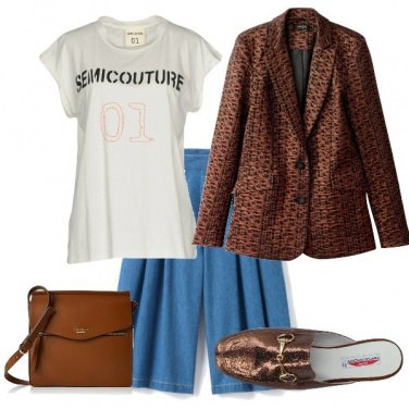 Outfit t-shirt e mule