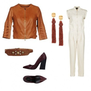 Outfit Casual brown