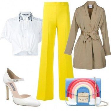 Outfit spunta l\'arcobaleno