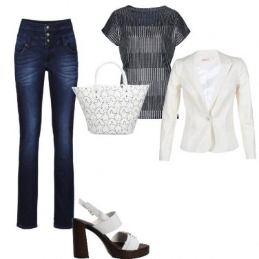 Outfit in jeans