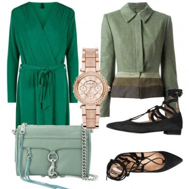 Outfit Un po' di verde