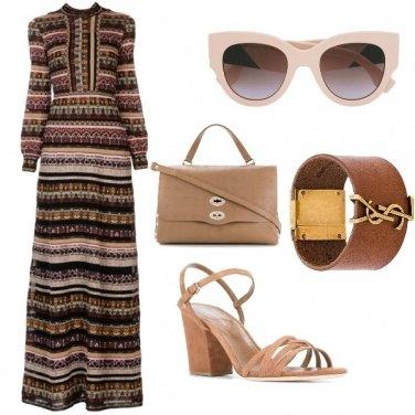Outfit Griffatissima, nei toni del beige