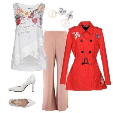 Outfit Pomeriggio fiorito