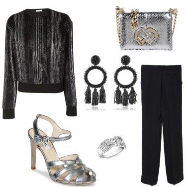 Outfit La pochette argento
