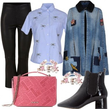 Outfit Giacca in jeans