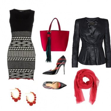 Outfit Black&red