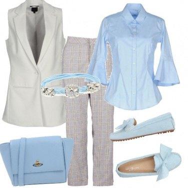 Outfit Pastello in ufficio