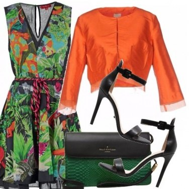 Outfit Tropical dress