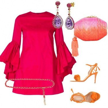 Outfit Passion orange