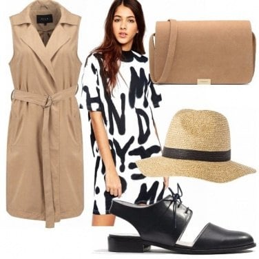 Outfit Beige e stampe!