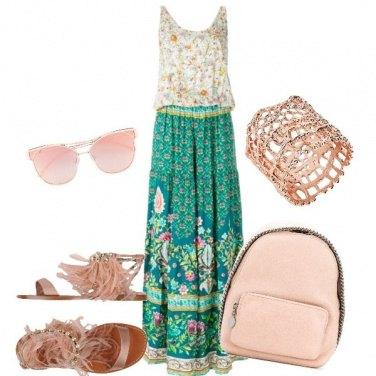 Outfit Fiori in città