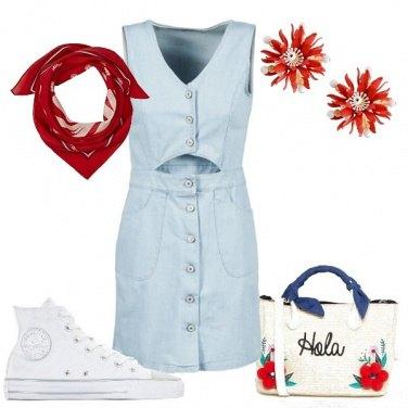 Outfit Ispirazione floreale