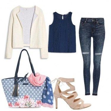Outfit La borsa a pois