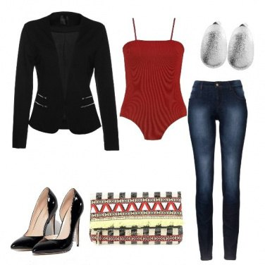 Outfit Sporty Red
