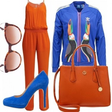 Outfit Tropical sporty chic