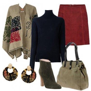 Outfit I colori della mantella