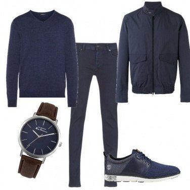 Outfit In blu