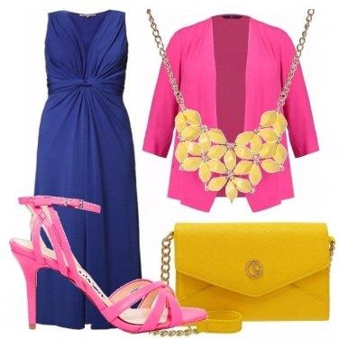 Outfit Giallo, fucsia, e blu!