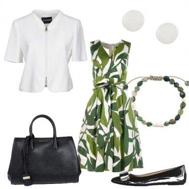 Outfit Bon ton tropicale