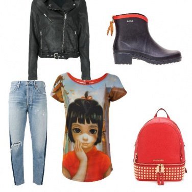 Outfit Bikers con stile