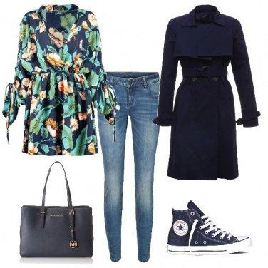 Outfit Blusa colorata