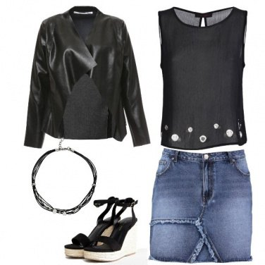 Outfit Easy nel weekend