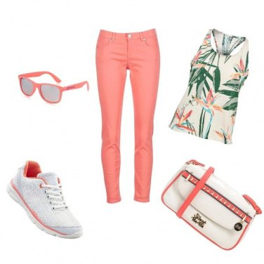 Outfit Rosa trandy