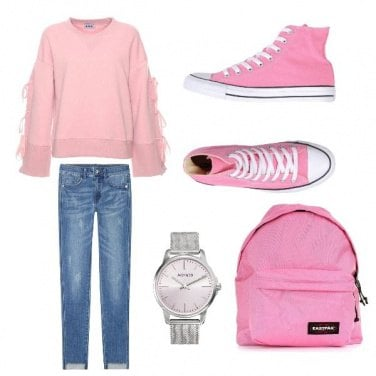 Outfit Pink is in the air