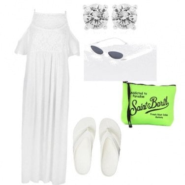 Outfit White summer