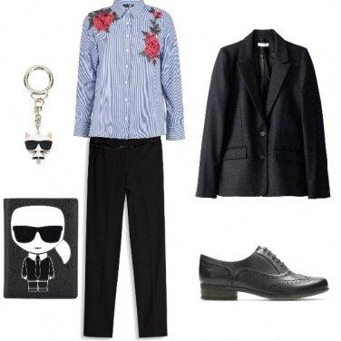 Outfit In ufficio con Karl