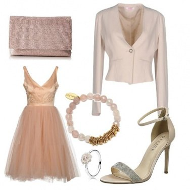 Outfit Tulle chic