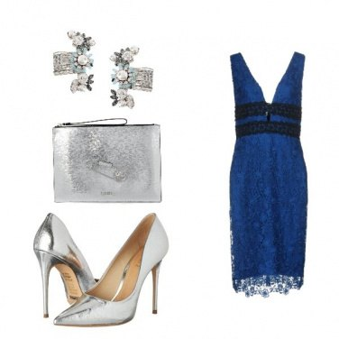 Outfit Pizzo blu