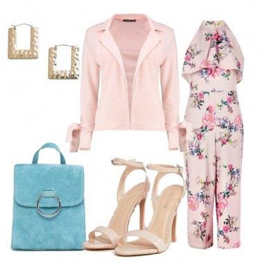 Outfit Una jumpsuit romantica