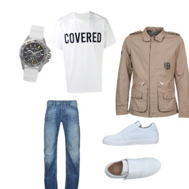Outfit Sneakers bianche