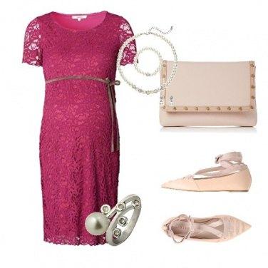 Outfit Futura mamma al matrimonio dell\'amica