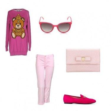 Outfit Per le amanti del rosa