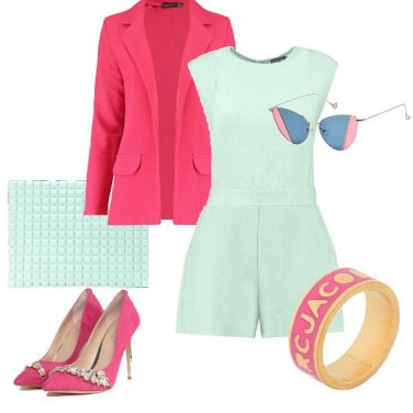 Outfit Mint and cherries