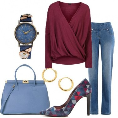 Outfit Jeans in ufficio