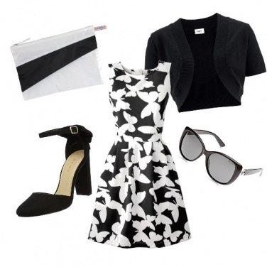 Outfit Semplicità Black and white