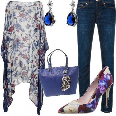 Outfit Estate in blu