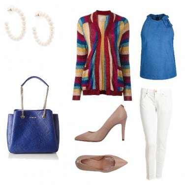 Outfit In ufficio colorata #byMaryso
