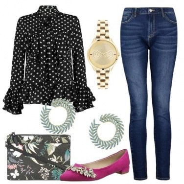 Outfit Easy Chic in Jeans