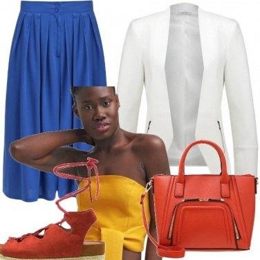 Outfit Solo per chi ama osare: color block