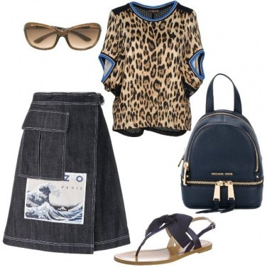 Outfit Lo zaino blu