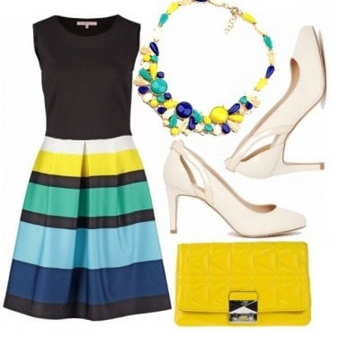 Outfit Multicolor block