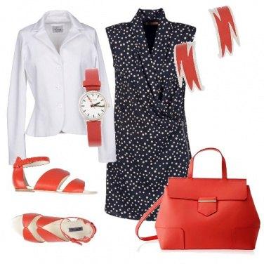 Outfit Il tocco glamour del mattone